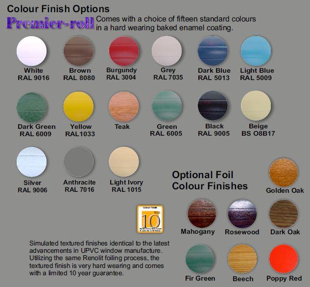 Premier -roll colours
