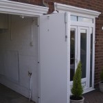 side hung door