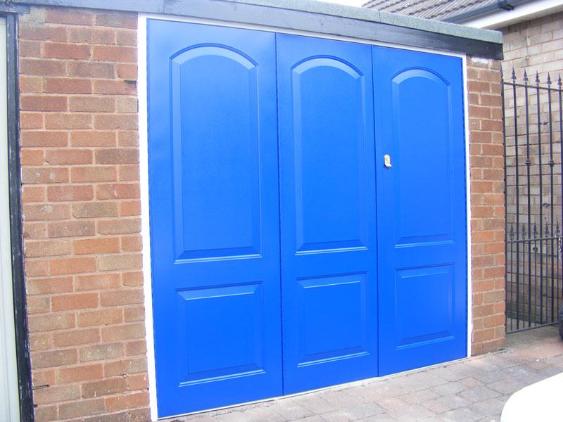 Side Hung Garage Doors In Kidderminster Dudley And